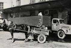 Valio - maidon kuljetusta 1950-luvulla