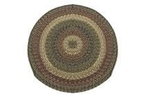 California - Charles Sunrise Round Braided Rug This high-quality braided rug is made by American workers at our family-owned business in the North Carolina Mountains. It is made from Naturalized Olefin, which is a synthetic, polypropylene yarn that is extremely durable, yet soft enough for use indoors. It is color fast and washable. Visit www.stroudbraided... for more details