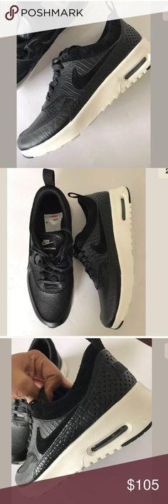 finest selection 88de3 05bdb Nike Air Max Thea Lx Black  Animal Skin Print 7.5