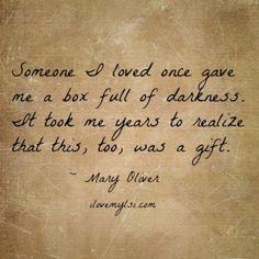 Box full of darkness. - Love, Sex, Intelligence