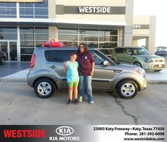 #HappyAnniversary to Louann Fischer on your 2013 #Kia #Rio from Wilfredo Suliveras at Westside Kia!