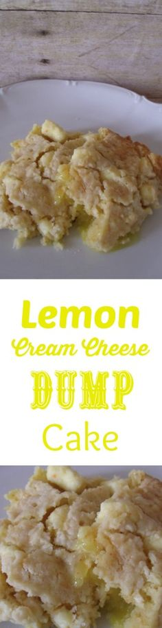 Lemon Cream Cheese Dump Cake Just delicious!  Pin now! Too delish to miss!
