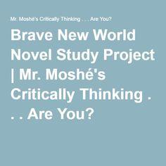 Brave New World Novel Study Project Ap Literature, Ap English, Brave New World, Rubrics, Teaching Resources, Composition, Novels, British, Study