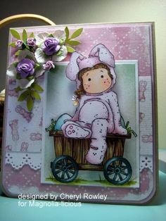 Hoppy Easter!! by cheryl l rowley - Cards and Paper Crafts at Splitcoaststampers