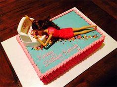 Drunk Barbie Cake                                                       …