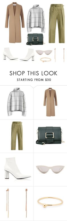 """""""MINIMALIST STYLE"""" by stephaniesyan ❤ liked on Polyvore featuring Chicwish, Amanda Wakeley, Weekend Max Mara, CÉLINE and Lauren Ralph Lauren"""