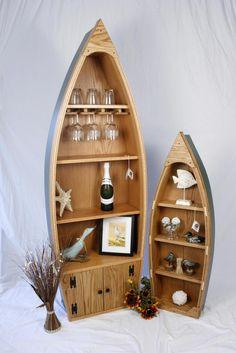 I want a canoe to use as a bookshelf :D