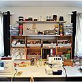 Rangement d'atelier et petites astuces... - My Créative Life (de pintade !)