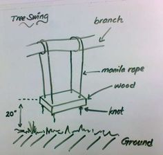 making a tree swing