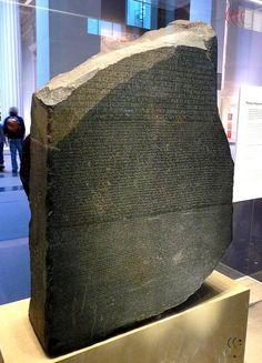 A Pedra de Roseta - Egito Antigo - Pesquisador Urandir