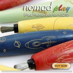 iPad paintbrush for kids. Nomad Play   Nomad Brush
