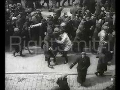 Straszne! Policja żydowska z getta warszawskiego prowadzi swoich na śmierć Warsaw Ghetto, German Police, Anti Semitic, Mainstream Media, Historian, Ww2, Poland, Bring It On, Women's Fashion