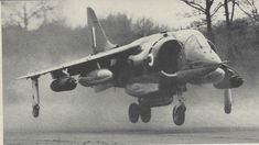 Britain's Harrier Jump Jet could take off either vertically or with a short roll, and thus did not require conventional airstrips. Built by Hawker Siddeley Aviation (later part of British Aerospace), the aircraft carrier-based Sea Harrier saw combat in the 1982 Falkland Islands war with Argentina.