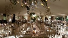 Marquee Events, Marquee Wedding, Autumn Wedding, Chandelier, Ceiling Lights, Weddings, Table Decorations, Furniture, Home Decor
