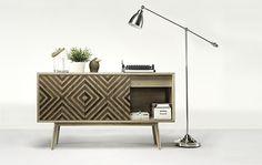 Wewood Casanova Sidebord or TV Cabinet Cabinet Furniture, Wooden Furniture, Home Furniture, Furniture Design, Armoire Tv, Etagere Design, Oak Sideboard, Sideboard Ideas, Tv Cabinets