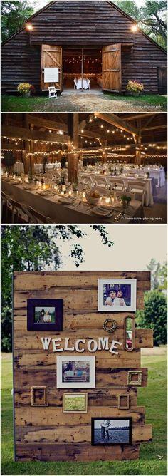 rustic country wedding decor ideas / http://www.deerpearlflowers.com/country-rustic-wedding-ideas/ #rusticdecorations