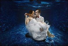 Ewelina i Janusz   Podwodna Sesja Ślubna Underwater, Under The Water
