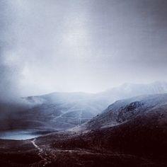 Un dia de invierno en el nevado de Toluca.