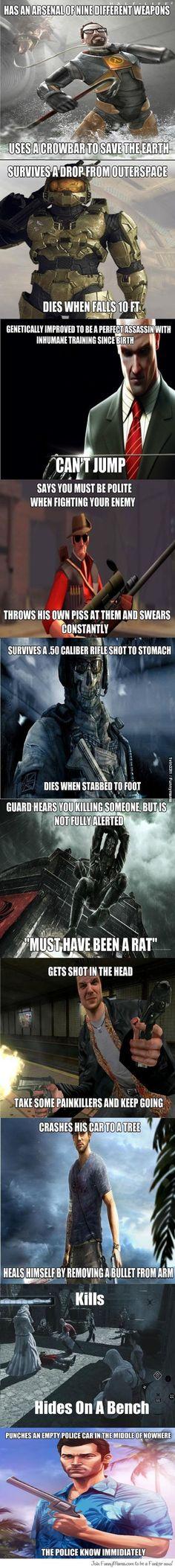 Game logic.