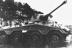 """Schwerer Panzerspähwagen Sd.Kfz. 234/2 """"Puma""""   Panzertruppen   Flickr"""