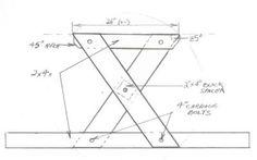 Picnic Table Leg Assembly