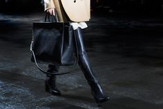 years looking for the perfect black handbag... and this might be it... if only... 3.1 Phillip Lim Accessories Fall/Winter 2013 « The Sartorialist