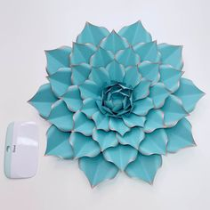 Giant Paper Flower Templates | 3D Large Paper Flower Stencil Pattern | DIY Handmade Paper Flowers | Paper Flower Decor and Backdrop for Weddings and Events Paper Flower Decor, Large Paper Flowers, Bic Pencils, Paper Cactus, Flower Center, Letter Size Paper, Flower Template, Event Decor, Flower Patterns