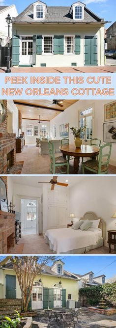 This home, which probably dates to the early 1800s, has been renovated on the inside but retains its Creole character and many of its original features, including door frames and hardware.