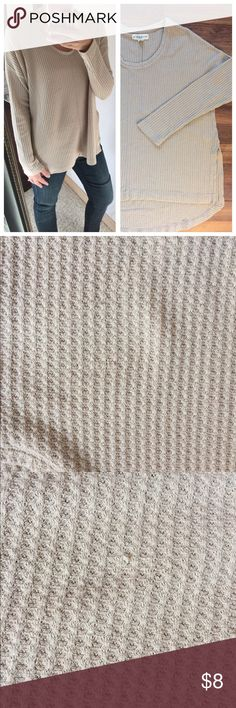 """Anthropologie, """"If It Were Me"""" Henley sweater Anthropologie, """"If It Were Me"""" Henley sweater. So in right now, warm and comfy! ‼️FLAW‼️ please see next pictures for snags on sweater. Reflected in price.  Size: Med Measure: B 21 L25 Polyester, Raylon, spandex if it were me Sweaters"""