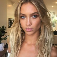 ☆ Follow us @popcherryau for more babe inspo ☆ pretty // blonde // natural makeup // amazing