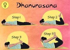 5 Easy Yoga Poses That Will Cure Irregular Periods and Menstrual Pain yoga 5 Yoga Poses That Will Cure Irregular Periods and Menstrual Pain Gym Workout Tips, Easy Workouts, Menstrual Yoga, Irregular Menstrual Cycle, Period Problems, Bow Pose, Irregular Periods, Easy Yoga Poses, Yoga Routine