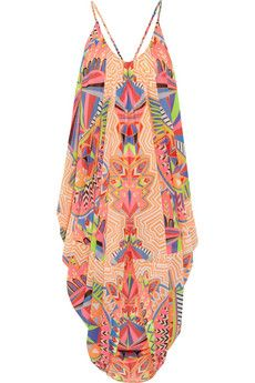 Mara Hoffman printed chiffon beach dress - aaahhhmazing!