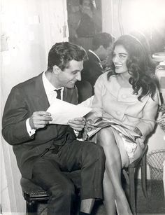 Dalida et Gilbert Becaud 1959
