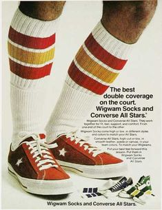 Vintage Converse All Star ad.