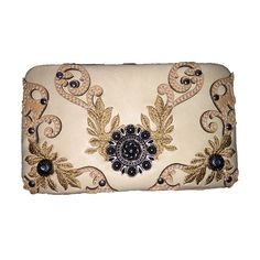 New Style Rhinestone Buckle Concho Concealed Carry Embroidered Leather Shoulder Handbag Purse and Available Optional Matching Messenger Bag, Wallet in Beige >>> Click image to review more details. (This is an Amazon Affiliate link and I receive a commission for the sales)