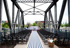 Denver Couple Marries On A Railroad Bridge At Coohill Restaurant (just an idea...)