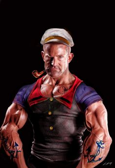 "Popeye cabañas""the Sailor Man"""