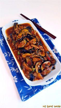 중국식 가지요리어향가지볶음 만들기 식이섬유가 풍부하고, 폴리페놀이 풍부한 가지항산화 물질이 가득하고...