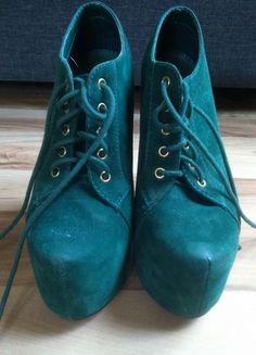 Kup mój przedmiot na #vintedpl http://www.vinted.pl/damskie-obuwie/platformy/10505537-ciemno-zielone-lity