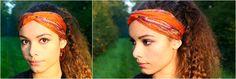4 idées de coiffures avec un foulard @princessefoulard @OdieusementB