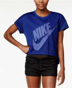 Nike Mesh Cropped Top