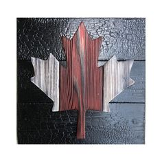 Shou Sugi Ban Canadian Sign for Rustic Home Decor - Burnt Wood Canadian Flag for Cottage - Yakisugi Wall Art Rustic Wall Art, Rustic Walls, Wooden Wall Art, Wood Art, Rustic Wood, Country Decor, Rustic Decor, Rustic Signs, Diy Wood Projects