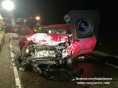 Accidente muy grave N-122 a la altura de Muelas #Zamora