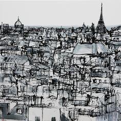 Parisian Rooftops by Paul Kenton