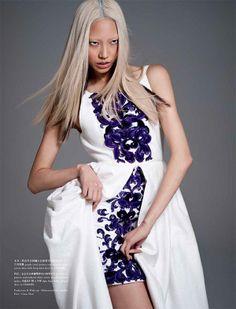 Soo Joo | Sy Delorme | PPaper Fashion's November 2012 | 'Into leBleu' - 8 Style | Sensuality Living - Anne of Carversville Women's News