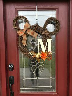 Mickey Fall Wreath