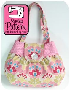 Pixie Handbag PDF Sewing Pattern