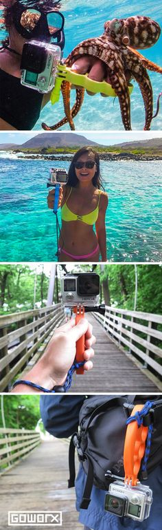 Get your hands on the hottest GoPro camera mount today! Wielded by thousands of fans all around the world - GoKnuckles unites simplicity and functionality at an incredible price of $19.99 - backed by our 100% Gear Guarantee. // Your source for GoPro, Drone & Smartphone Camera & Tech Gear // www.GoWorx.com