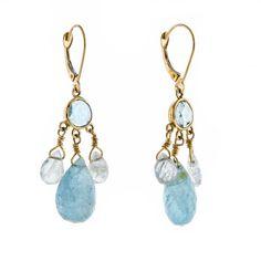 Mermaid Tear Earrings | Jes MaHarry Jewelry