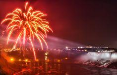 fall fireworks | Niagara Falls Fireworks